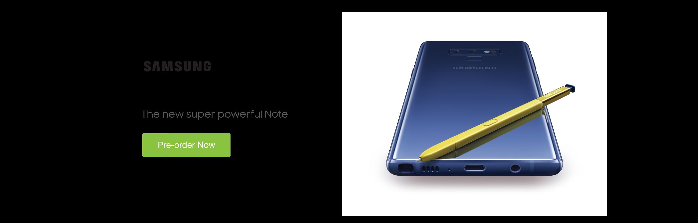 Galaxy S9 Preorder
