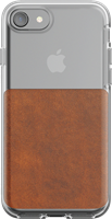 Nomad iPhone 8/7 Leather Clear Case