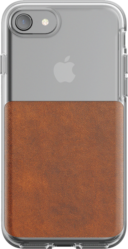 wholesale dealer 194a2 14077 Nomad iPhone 8/7 Leather Clear Case Price and Features