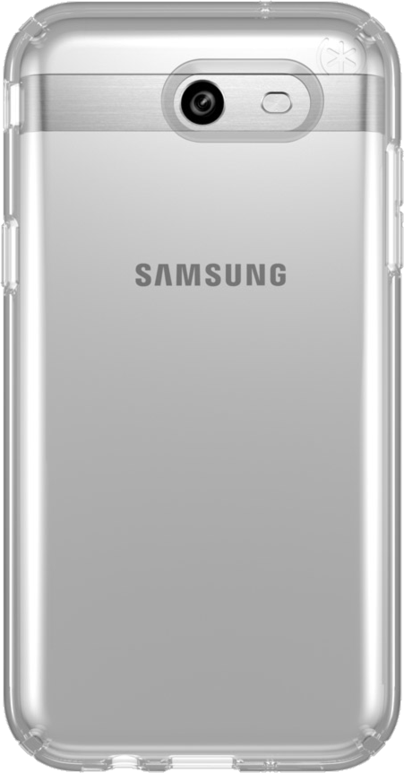 Galaxy J3 2017/Emerge Presidio Clear Case - Clear