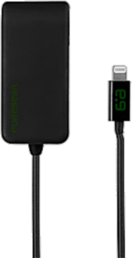 PureGear Lightning 2.4A Travel Charger w/ Additional USB Port