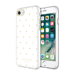 iPhone 7 Sugar Paper Heart Case - Gold/White