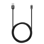Powerology 6FT Braided Type-C Cable - Black