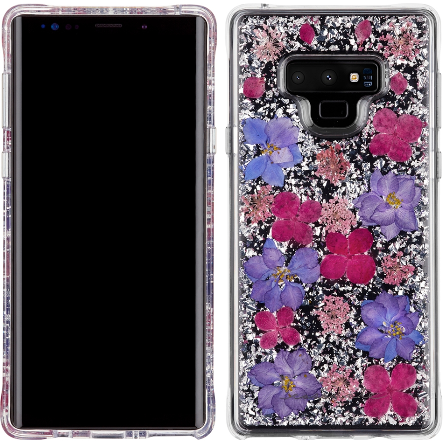 Galaxy Note 9 Karat Petals Case - Purple