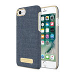 iPhone 7 Sugar Paper Leather Wrap Case - Chambray