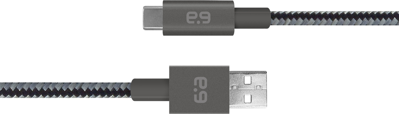 PureGear USB Type-C Metallic Charge/Sync Cable