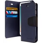 Goospery iPhone 7+ Sonata Wallet - Navy Blue
