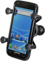 """RAM Mounts Universal X-Grip Cell Phone Holder with 1"""" Ball"""