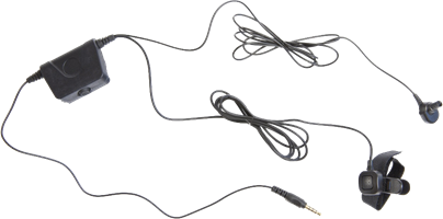 Milicom In-Ear Mic Motorola PTT Headsets (2 Wire)