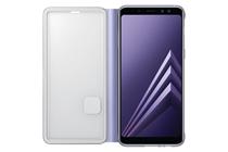 Samsung OEM Neon Flip Cover - Galaxy A8(2018), Grey