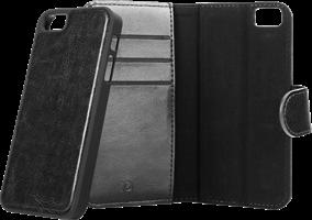 XQISIT iPhone SE/5s/5 Eman Magnetic Wallet Case