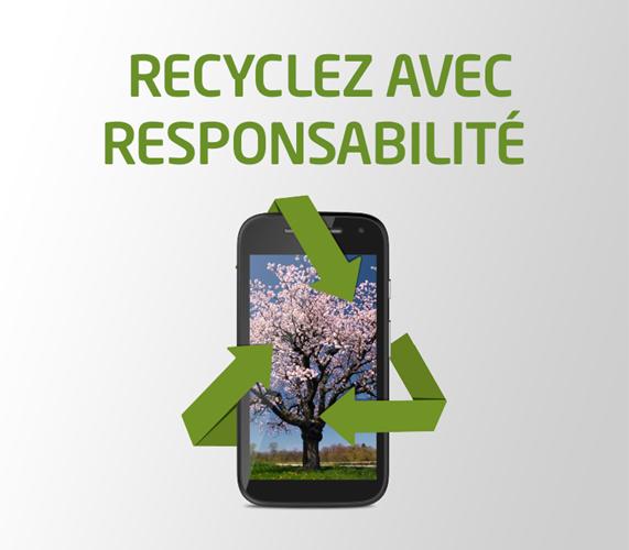 Recyclez avec responsabilite
