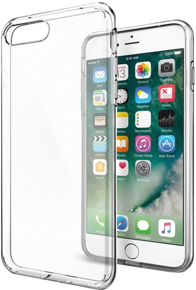 iPhone 7 Plus Liquid Crystal Case - Crystal Clear
