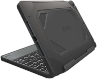 photos officielles aa79d 81e65 Zagg ZAGG étui-clavier et à rabat Rugged pour iPad Air 2 ...