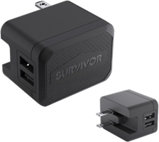 Griffin 4.8A Suvivor Dual USB Wall Charger