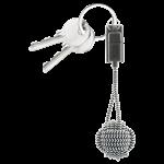 Native Union Key Lightning Cable - Zebra