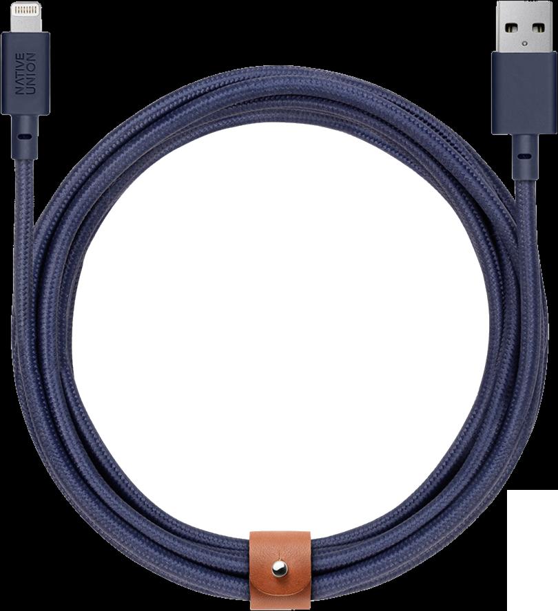 Belt XL Lightning Charge/Sync Cable - Marine