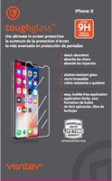 Ventev iPhone X toughglass Screen Protector