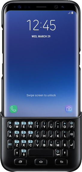 Galaxy S8+ Keyboard Cover - Black