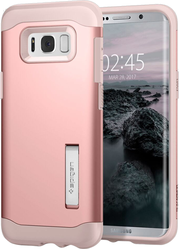 Galaxy S8 Slim Armor Case - Rose Gold