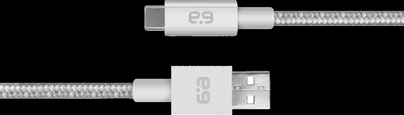 PureGear USB Type-C Metallic Charge/Sync Cable