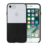 iPhone 6/7 Burton Leather Case - Clear/Black
