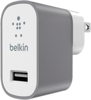 Belkin MixIt Metallic 2.4A Travel Charger (no cable)