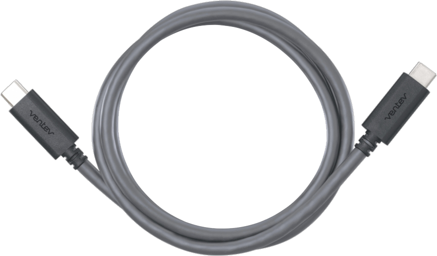 Ventev 3.3' USB Type-C Charge/Sync Cable - Gray