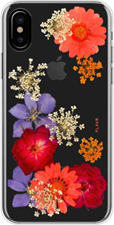 FLAVR iPhone XS/X iPlate Real Flower Case
