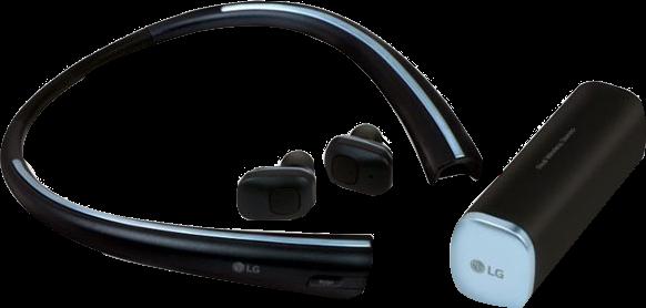 LG TONE Free Bluetooth Stereo Headset
