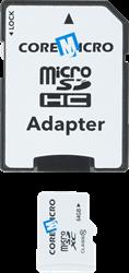Core Micro Carte mémoire MicroSD avec adaptateur