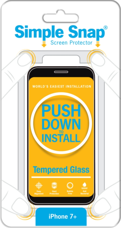 iPhone 8/7 Plus Tempered Glass