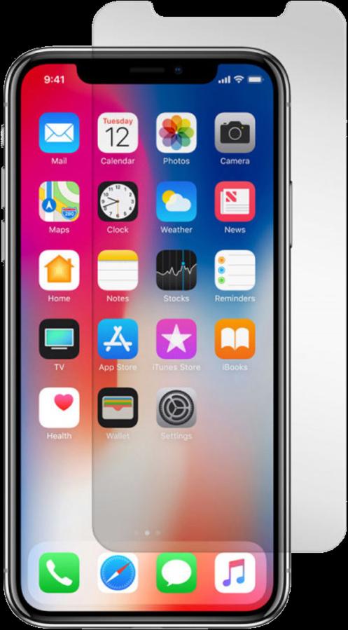 iPhone X Black Ice Edition Screen Guard
