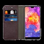 Blu Element Huawei P20 Wallet Case - Black/Brown