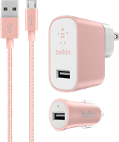 Belkin Mixit Metallic Premium Charging Kit For Micro-USB Devices