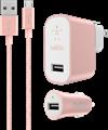 Belkin Mixit Metallic Premium Charging Kit For Micro-USB Devices