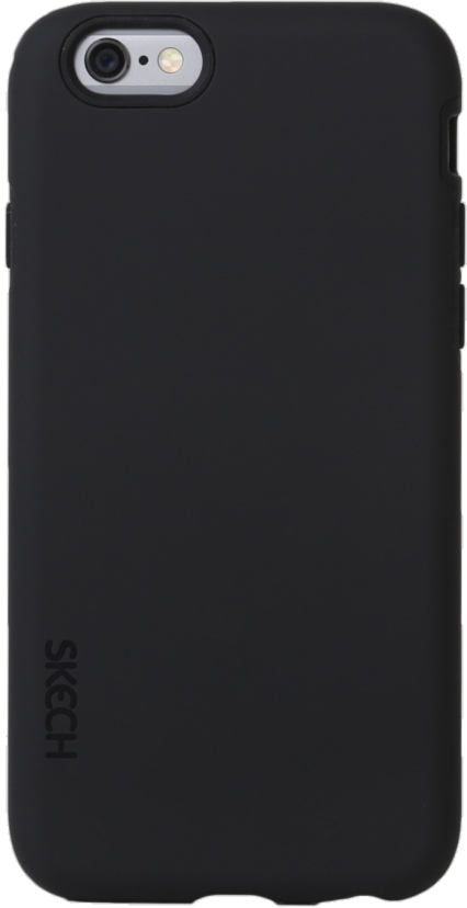 iPhone 6s/6 Plus Bounce Case - Black/Black