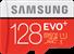Samsung MicroSDXC EVO+ Memory Card w/ Adapter 128GB
