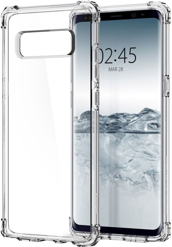 Galaxy Note8 Crystal Shell Case - Clear Crystal