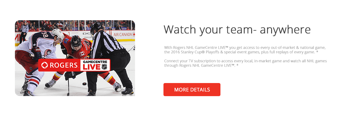 Rogers NHL Gamecentre