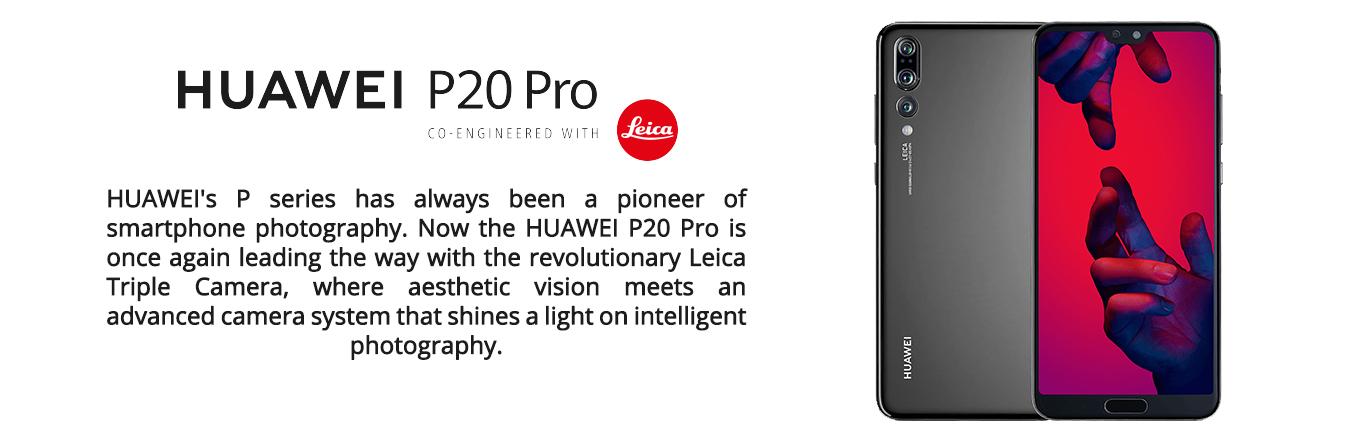 Huawei P20 - P20 Pro