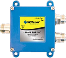 weBoost Wilson 10 dB tap w/0.5 dB pass through w/N female connectors