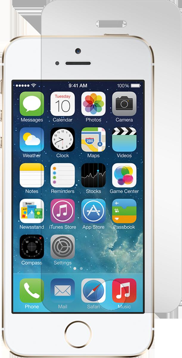 iPhone 5/5s/5c/SE Screen Guard - Black Ice Ed.
