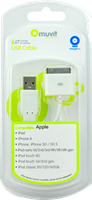 Muvit iPhone 4/4s / iPad / iPod  USB Charge & Sync Cable