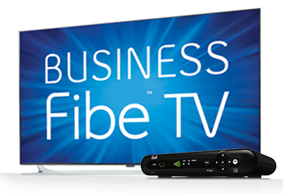 Bell Fibe TV for Business