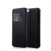 iPhone 6 - Nouske S-View Window Flip Cover - Black