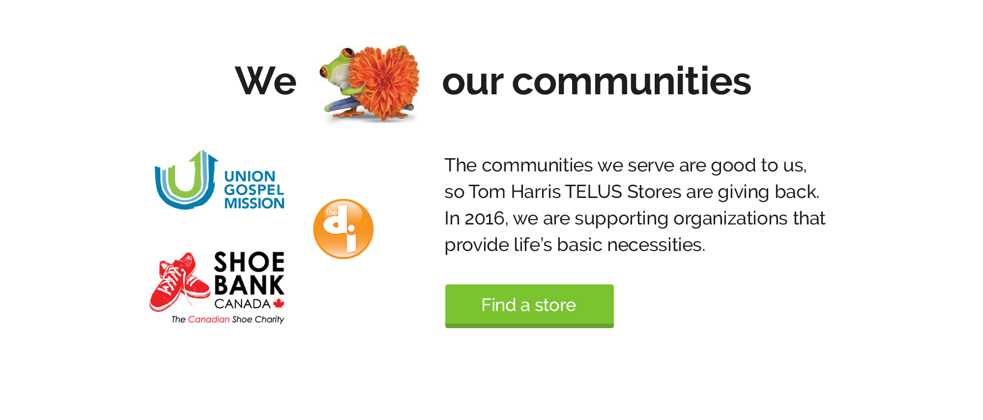 Tom Harris Gives Back to Community
