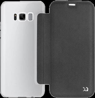 XQISIT Galaxy S8 Adour Flap Case