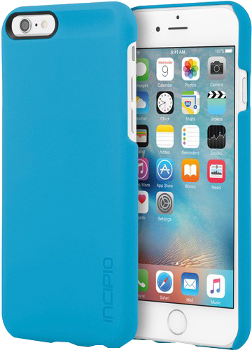 iPhone 6/6s Feather Case - Cyan