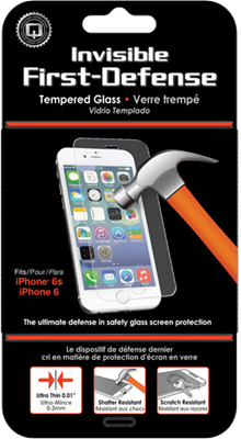 Qmadix iPhone 6/6s Invisible Tech-Armor Glass